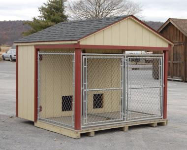 8x8 Double Dog Kennel in stock at Pine Creek Structures of Elizabethville (Berrysburg), PA
